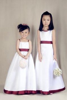 Dresswe.com SUPPLIES Lovely A-line Empire Floor-length Flower Girl Dress Flower Girl Dresses 2014