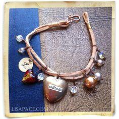 Leather Cord Bracelet Tutorial
