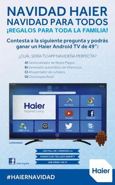 """Participa y gana un Haier Android TV 49"""""""