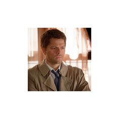 'Supernatural' trouble with Castiel ❤ liked on Polyvore featuring supernatural and fandom related