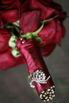 Bride's Red Rose Bouquet