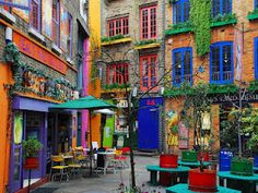 Neal's Yard, Covent Garden.