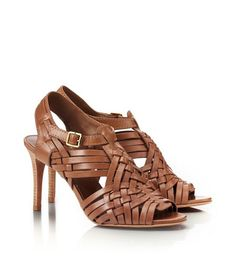 Nadia Mid Heel Sandal   Womens Heels   ToryBurch.com...Need them!