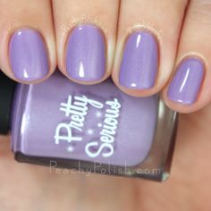 Pretty Serious Cosmetics Cuddle Bunny   The Well Meaning But Ultimately Quite Awkward Pet Names Collection   Peachy Polish