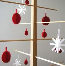 minimal christmas tree - Google 검색