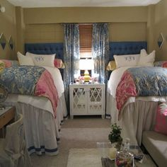You Hire An Interior Decorator For Your Dorm Room? Should You Hire An Interior Decorator For Your Dorm Room?Should You Hire An Interior Decorator For Your Dorm Room? Room, Traditional Bedroom, Home, Dream Dorm Room, Room Inspiration, Girl Room, Dorm, College Room, Ole Miss Dorm Rooms