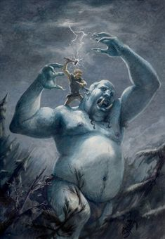 norse mythological beings - Google Search