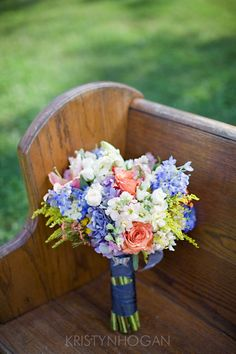1. Brides Bouquet or something similar for bridesmaids bouquets
