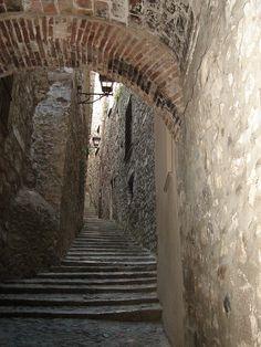 Un racó de la Girona més antiga (Catalunya - Catalonia)