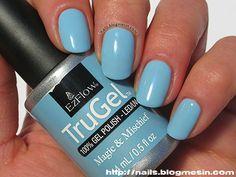 EzFlow TruGel – Magic & Mischief – Swatches by nails.blogmesin.com