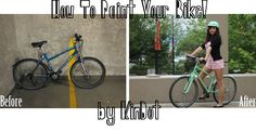 KimDot: How To Tuesday // Paint your bike!
