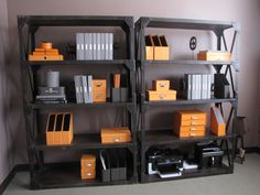 Orange Starter Set Poppin S Color Desk Accessories Other Nice Bright Colors Too Gadgets And Gizmos Pinterest Office