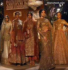 Visit web page and see the 6th look.  Delhi Couture Week 2013 Day 1 – Sabyasachi Collection