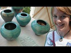 Pottery Making and Raku Firing with Andrew Cummins - YouTube
