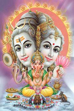 Ganesh, Shiva, Parvati