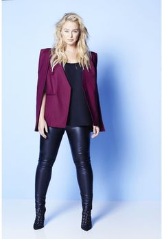 Plus Size Cape Blazer (sizes 8 - 22)
