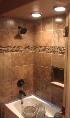 Custom Tile Designs by GPB - modern - bathroom tile - detroit - GPB Builders