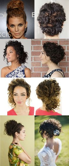 Trendy wedding hairstyles natural curls make up 47 Ideas Fancy Hairstyles, Curled Hairstyles, Wedding Hairstyles, 1980s Hairstyles, Homecoming Hairstyles, Wedding Hair And Makeup, Bridal Hair, Hair Makeup, Natural Curls