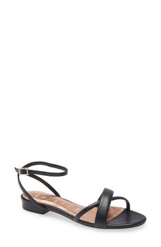 Ted Baker London Sheahh Sandal available at #Nordstrom Nordstrom Store, Comfort Style, Ted Baker, Ankle Strap, London, Sandals, Heels, Number, Leather