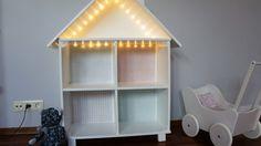 jak zrobić domek dla lalek z komody IKEA Rast