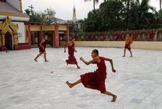 Football | Steve McCurry Burma