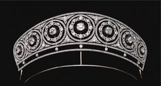 Diamond tiara circa 1905