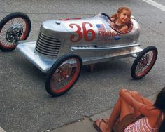 The coolest home made go-cart/peddle car ever.