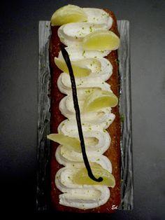 Baba au rhum - citron, citron vert & chantilly mascarpone-vanille