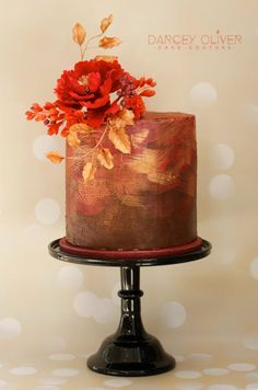Ruby by Darcey Oliver Cake Couture - http://cakesdecor.com/cakes/223529-ruby