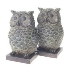 Owl Bookends from notonthehighstreet.com