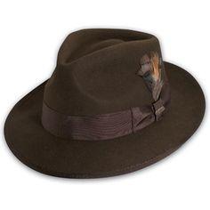 ecc306f53e3ec Scala Clarkton - Wool Fedora Hat  48.00