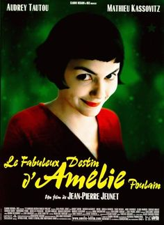 Le Fabuleux Destin d'Amélie Poulain (2001) - Amelie, an innocent and naive girl in Paris, with her own sense of justice, decides to help those around her and along the way, discovers love.