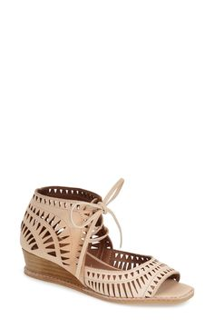 Jeffrey Campbell 'Rodillo' Wedge Sandal (Women) available at #Nordstrom