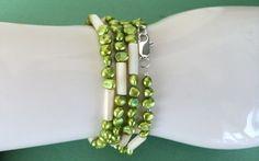 LONG NECKLACE short necklace wrap bracelet by MimiJewels on Etsy