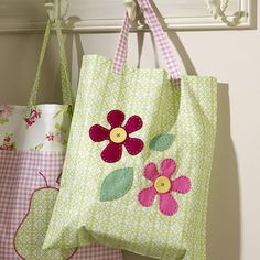 How to Sew a Flower Bag