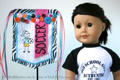 Camp Doll Diaries – Make a Doll Banner with an Iron-on