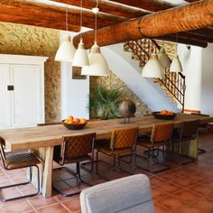 Living room in one of the holiday villas at Benalí Spain