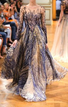 Haute Couture Zuhair Murad Fall-Winter 2014 Fashion show – Outfit Inspiration & Ideas for All Occasions Zuhair Murad, Runway Fashion, High Fashion, Fashion Show, Womens Fashion, Fashion Design, Trendy Fashion, Crazy Fashion, Net Fashion