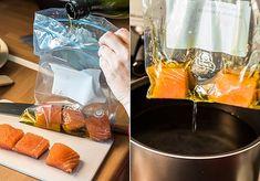 Salmón a baja temperatura Slow Cooker Recipes, Crockpot Recipes, Healthy Recipes, Sous Vide, Vegetarian Menu, Crock Pot Cooking, Food Porn, Food And Drink, Japanese