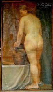 Mujer y jarro. #MariaLuisaIbanezArt #Art #Painting #Spain