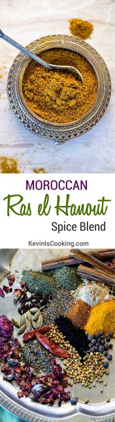 Like curry powders, there is no one recipe for a Ras el Hanout Spice blend, an outrageously aromatic North African spice blend with influences from India. via @keviniscooking