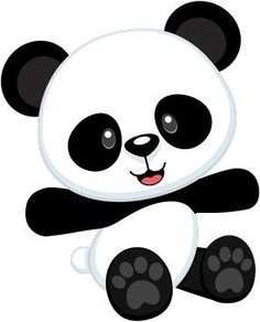 ain t no party like a panda bear party because a panda bear party is rh pinterest com clip art panda dad clip art panda fox