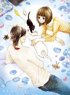 Mei Tachibana e Yamato Kurosawa Manga Love, Anime Love, Yamato And Mei, Yamato Kurosawa, Say I Love You, My Love, Quiet Girl, Shoujo, My Children