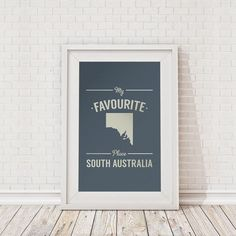 My favourite place South Australia framed print