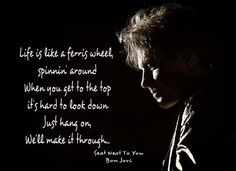 All Things Go Back To Bon Jovi..., I really love this song. I dedicate this to...
