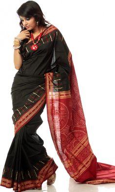 The Gorgeous Bomkai Saree from Orissa