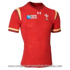 Camisetas de rugby Gales 2015 rojo RWC €26.9