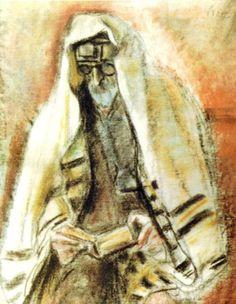 Iser, Iosif (1881-1958) - Jew with Book (National Museum of Art, Bucharest, Romania) by RasMarley, via Flickr