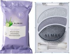 $5/2 Almay Cosmetic Products Coupon & Walgreens Deal! Free Make-up Remover Wipes!