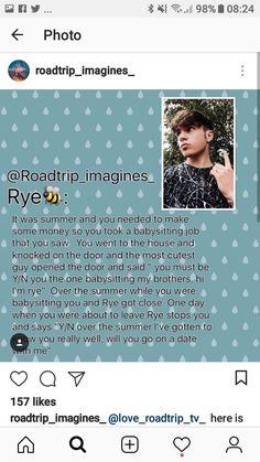 Rye Brook, Scream Tv Series, Rye Beaumont, Babysitting Jobs, Knock On The Door, Knock Knock, Cute Guys, Fangirl, Road Trip